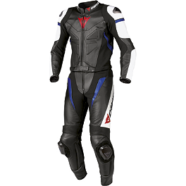 Dainese Avro Leather Two-Piece Suit - Dainese Aspide Leather Two-Piece Suit