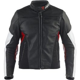 Dainese Cage Leather Jacket - Dainese Greyhound Leather Jacket