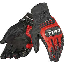 Dainese Carbon Cover S-ST Gloves - Dainese Trophy Vintage Leather Pants
