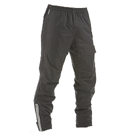 Dainese Edimburgo Waterproof Reflective Pants - Firstgear Sierra Rain Pants