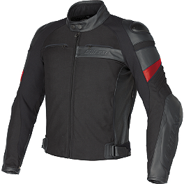 Dainese Frazer Leather Jacket - Dainese Racing Perforated Leather Jacket