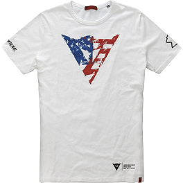 Dainese Laguna Seca Flag T-Shirt - Dainese Color T-Shirt