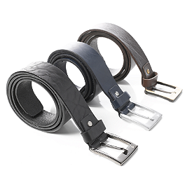 Dainese Leather Belt - Dainese Logo Evo Belt