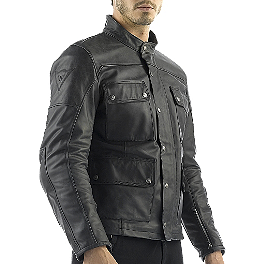 Dainese Maverick Leather Jacket - REV'IT! Defender GTX Pants