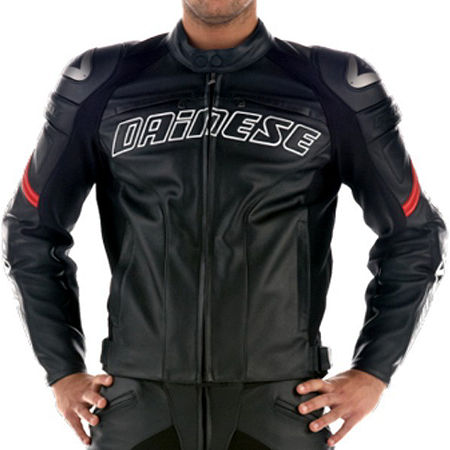 Dainese Racing Perforated Leather Jacket - Main