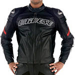 Dainese Racing Perforated Leather Jacket - Dainese Perforated Leather Motorcycle Riding Jackets