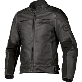 Dainese R-Twin Leather Jacket - Alpinestars Black Shadow Huntsman Leather Jacket