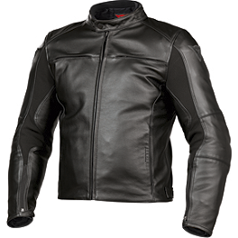 Dainese Razon Leather Jacket - Icon Pursuit Touchscreen Gloves