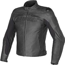 Dainese Speed Naked Leather Jacket - Fieldsheer Iceberg Vest