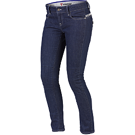 Dainese Women's D19 Denim Pants - GB Racing Protection Bundle