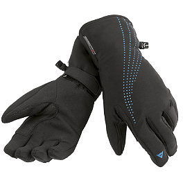 Dainese Women's Aura Gore-Tex Gloves - Icon Women's Pursuit Touchscreen Gloves