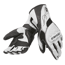 Dainese Women's Dart Gloves - Alpinestars Women's Stella SP-2 Leather Gloves