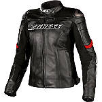 Dainese Women's Racing Leather Jacket - Dainese Leather Motorcycle Riding Jackets
