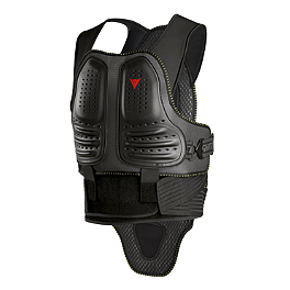 Dainese Wave Pro Chest Protector - Speed & Strength Protective Vest - Live By The Sword