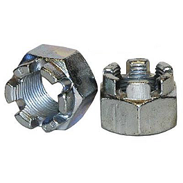 Durablue Axle End Nut Steel - 1988 Yamaha BLASTER Durablue Posi-Lock Nut - For Stock Or Heavy Duty Axle