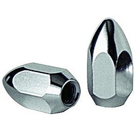 Durablue Aluminum Tapered Lug Nuts - 8 Pack - 2010 Arctic Cat 700 S Durablue Lug Nuts Flat, 8 Pack