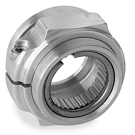 Durablue Posi-Lock Nut - For Stock Or Heavy Duty Axle - 2009 Yamaha YFZ450 Durablue Axle End Nut Steel