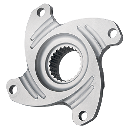 Dura Blue Sprocket Hub - 2008 Honda TRX450R (KICK START) Durablue Anti-Fade Brake Hub / Locknut