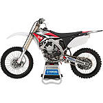 GYTR One Industries Graphic Kit - Red / Black / White - Yamaha GYTR Dirt Bike Graphics