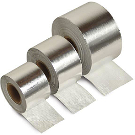 "DEI Cool-Tape 1-1/2"" x 30' - DEI Stainless Steel Locking Ties 8"