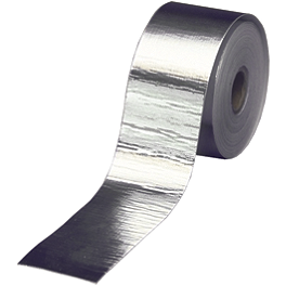 "DEI Cool-Tape 1-1/2"" x 15' - DEI Stainless Steel Locking Ties 14"