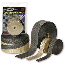DEI Exhaust Wrap - Moose Stainless Exhaust Clamps
