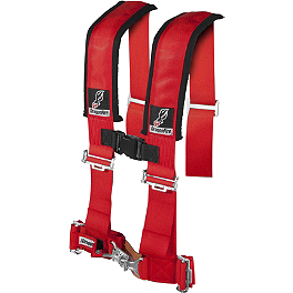 "Dragonfire Racing 4-Point 3"" Harness Restraints with Sternum Clip - Dragonfire Racing 5-Point SFI Approved Racing Harness"