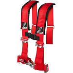 "Dragonfire Racing 4-Point 3"" Harness Restraints with Sternum Clip - Dragonfire Racing Dirt Bike Products"