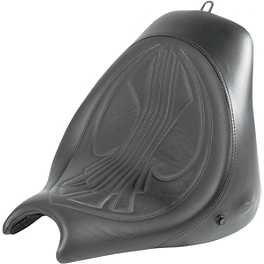 Danny Gray Airhawk Bigseat - Plain - Danny Gray Airhawk Weekday 2-Up XL Seat With Backrest Receptacle - Plain
