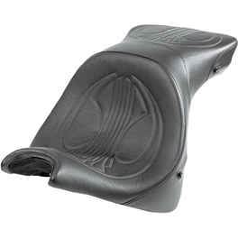 Danny Gray Airhawk Weekday 2-Up XL Seat - Plain - Danny Gray Weekday 2-Up XL Seat With Backrest Receptacle - Flame