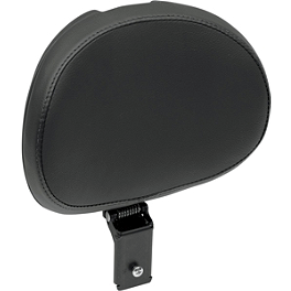 Danny Gray Driver's Backrest - Danny Gray Short Hop 2-Up XL Seat With Backrest Receptacle - Flame