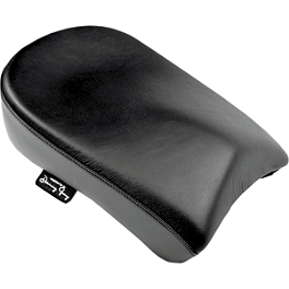 Danny Gray Wide Passenger Bigseat - Plain - Willie & Max Pillion Seat