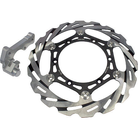 Driven Blade Oversize Floating Front Brake Rotor - Main