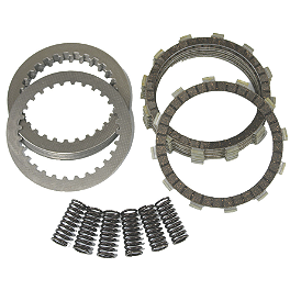 Driven Complete Clutch Kit - 2010 Kawasaki KFX450R EBC Dirt Racer Clutch Kit