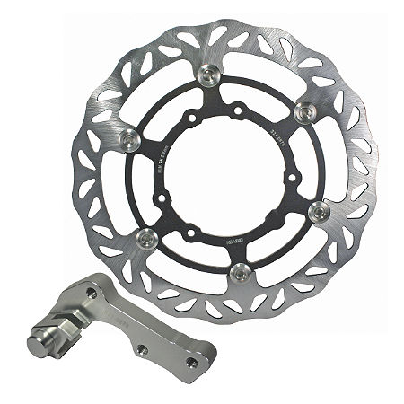 Driven Oversize Floating Front Brake Rotor - Main