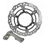 Driven Oversize Floating Front Brake Rotor - Driven Industries Dirt Bike Brake Rotors