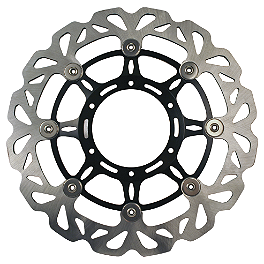 Driven Sport Series Motorcycle Brake Rotor - Front - 2004 Yamaha FZ6 Yana Shiki Front Rotor - Right