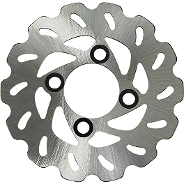 Driven Sport Series Brake Rotor - Front - 1988 Yamaha WARRIOR Galfer Standard Wave Brake Rotor - Front