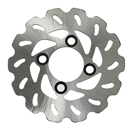 Driven Sport Series Brake Rotor - Rear - 2009 Honda TRX450R (KICK START) EBC Brake Rotor - Rear