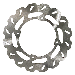 Driven Sport Series Brake Rotor - Rear - 2009 Yamaha YZ250 Driven Oversize Floating Front Brake Rotor