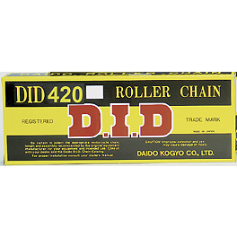 DID 420 Standard Chain - 120 Links - 1996 Yamaha RT100 BikeMaster 420 Standard Chain - 120 Links