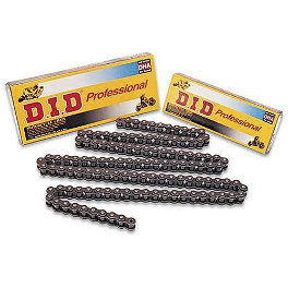 DID 420 NZ3 Black Chain - 126 Links - 2004 Yamaha TTR90 DID 420 Standard Chain - 126 Links