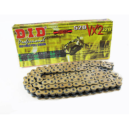 Did 520 VX2 X-Ring Chain - 100 Link Gold / Black - Main