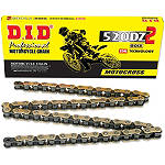DID 520 DZ2 Chain - 120 Links - 520 Dirt Bike Chains and Master Links