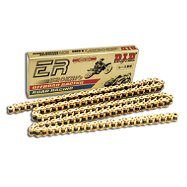 DID 520 ERV3 X-Ring Chain - DID 525 Erv X-Ring Gold Master Link - Rivet Style