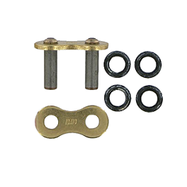 DID 520 VMX X-Ring Rivet Type Master Link - Gold - DID 525VM2 X-Ring Master Link - Clip Style