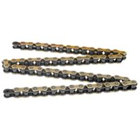 DID 530 VX X-Ring Gold & Black Chain - 120 Links