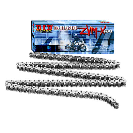 DID 530 ZVMX X-Ring Chrome Chain - 120 Links - Main