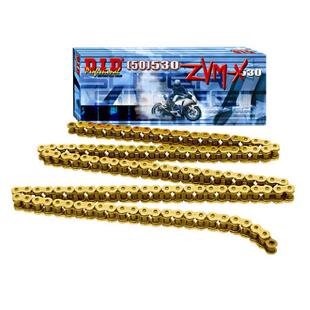 DID 530 ZVMX X-Ring Gold Chain - 120 Links - Main