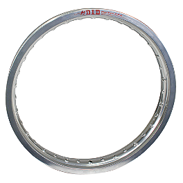 "DID LT-X Dirt Star Rim 19"" - Silver - 2010 Suzuki RMZ450 DID 520 ERV3 X-Ring Chain - 120 Links"